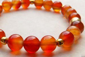 Sacral chakra bracelets