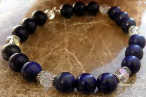 September birthstones Lapis Lazuli third eye chakra
