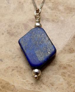 Lapis-Lazuli reiki healing crystal pendant
